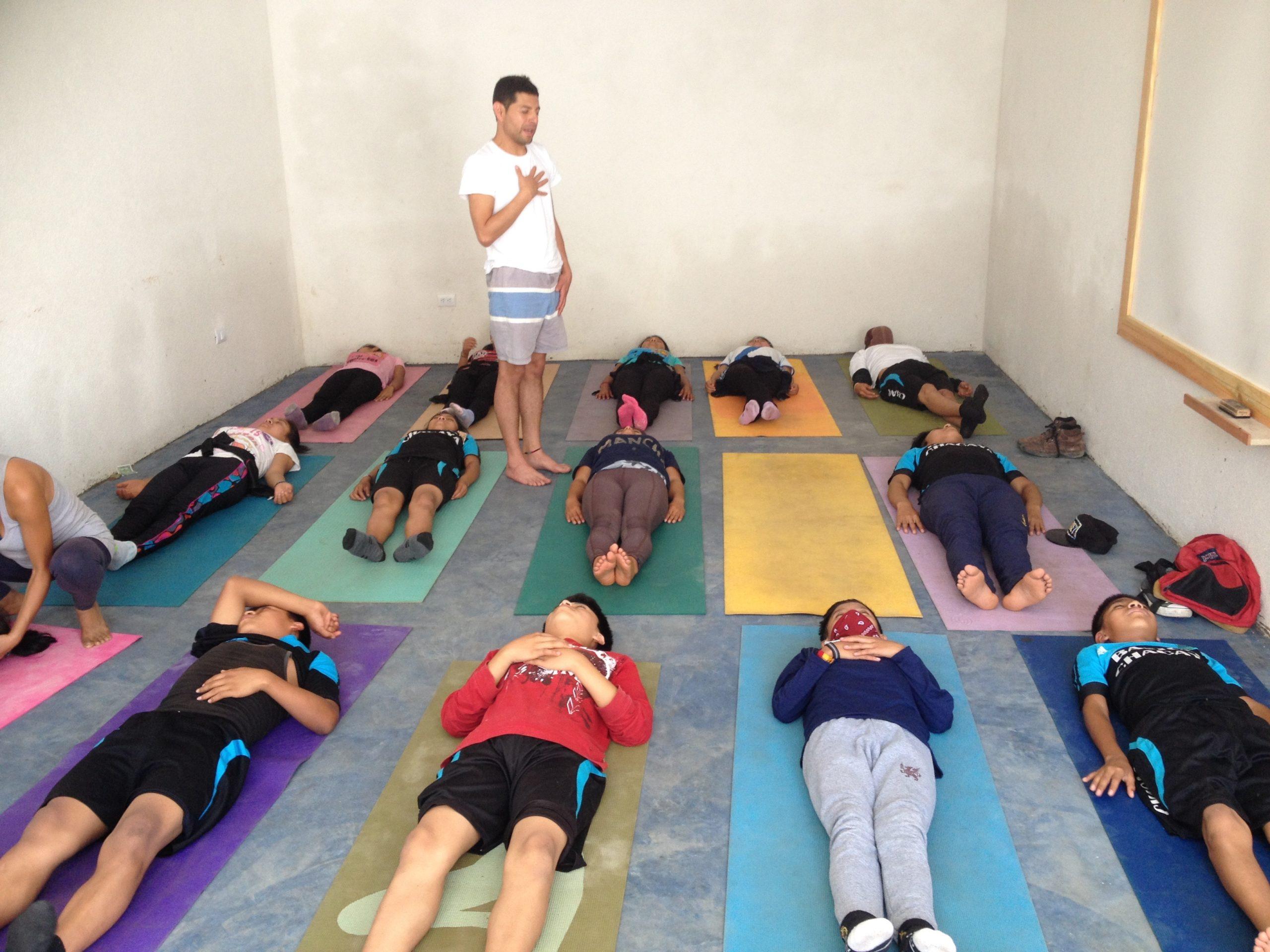 Yoga en Tz'utujil
